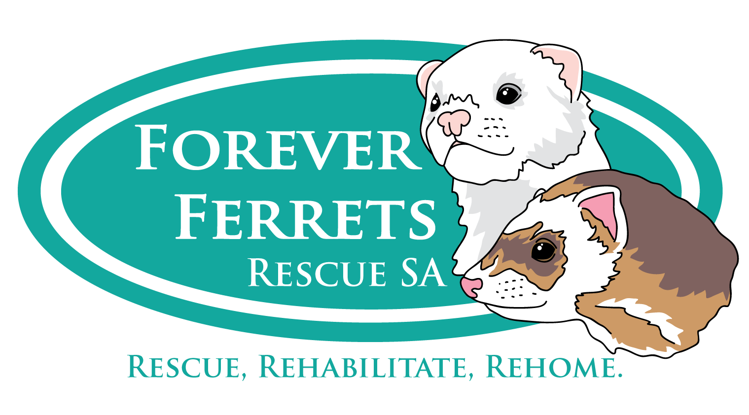 forever ferrets logo