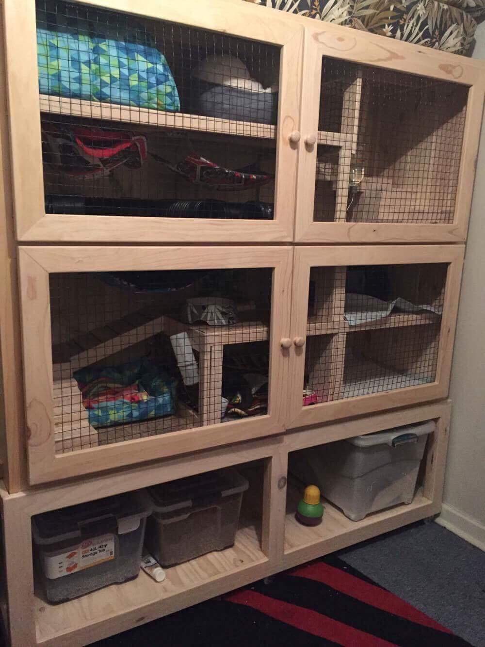 fer cage 1